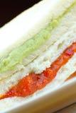 Bread Custard - Sandwich Custard Stock Images