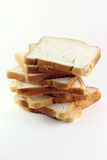 Bread cut Stock Images