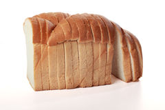 Bread cut Stock Image