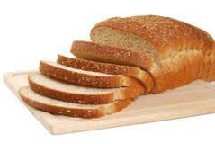 Bread on a cutting board. Fresh sliced bread on a cutting board Stock Photo