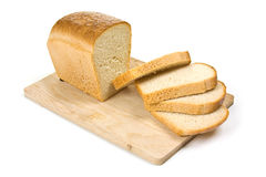 Bread on a cutting board Stock Photography