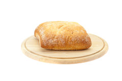 Bread on a cutting board Royalty Free Stock Photography