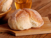 Bread on cutting board Stock Image
