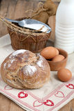 Bread and Dairy Products Stock Photo