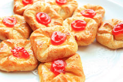 bread danish obraz stock