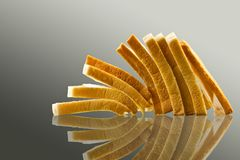 Bread,dessert from ricce Stock Photo