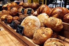 Bread display Royalty Free Stock Photo