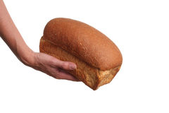 Bread donation Stock Photos