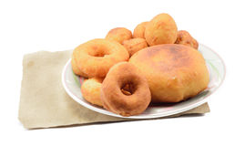Bread and donut Stock Photo