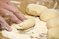 Bread Dough Stock Photography