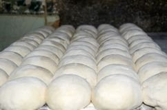 Bread Dough. Ready to be cooked in the oven Stock Photography