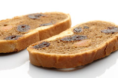 Bread with dried fruit Royalty Free Stock Photo