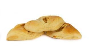 Bread with dried shredded pork stock photos