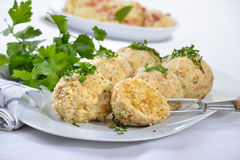 Bread dumplings royalty free stock photos