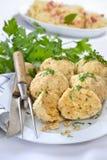 Bread dumplings Stock Image
