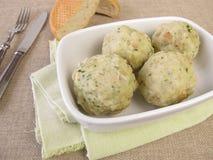Bread dumplings Royalty Free Stock Images