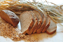 Bread and ears Royalty Free Stock Photos
