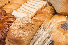 Bread and ears Royalty Free Stock Images