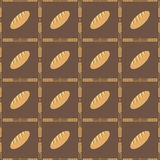 Bread and ears pattern Royalty Free Stock Images