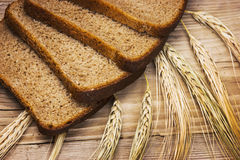 Bread and ears Stock Photography