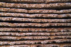 Bread edge dry healthy food as a background stock images
