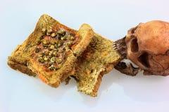 Bread expire Stock Image