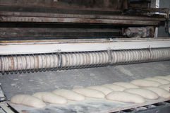 Bread factory equipment Stock Photography