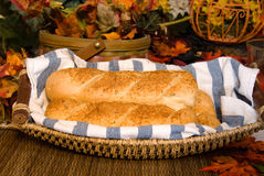 Bread during fall Royalty Free Stock Photo