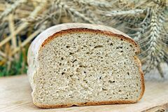 Bread, Farmer'S Bread, Baked Goods Royalty Free Stock Images