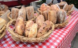 Bread at Farmers Market Royalty Free Stock Photos