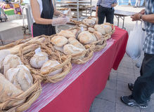 Bread at Farmers Market Royalty Free Stock Photography