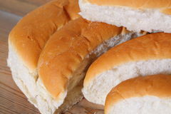 Bread finger rolls C Stock Images