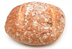 Bread flour on top Royalty Free Stock Photo