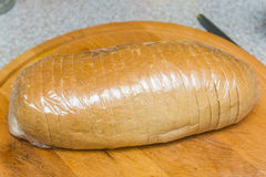 Bread in foil Royalty Free Stock Photo