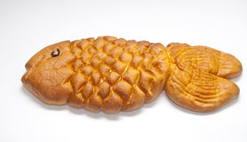Bread in the form of fish Royalty Free Stock Images