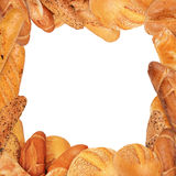 Bread frame Royalty Free Stock Photos