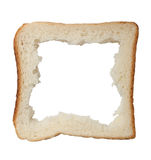 Bread frame Stock Photography