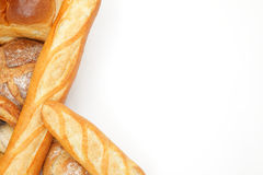 Bread frame Royalty Free Stock Image