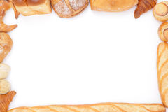 Bread frame Royalty Free Stock Images