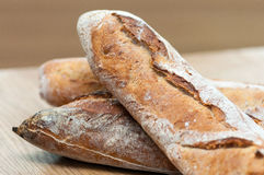 Bread-French baguettes Stock Images