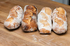 Bread-French baguettes Royalty Free Stock Photo