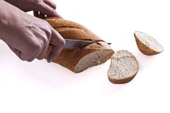 Bread fresh Stock Image