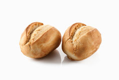 Bread. Fresh bread on a white background Royalty Free Stock Photography