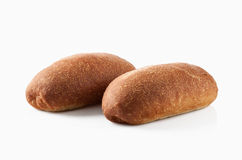 Bread. Fresh bread on a white background Royalty Free Stock Image