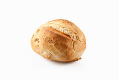 Bread. Fresh bread on a white background Stock Images