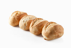 Bread. Fresh bread on a white background Stock Photography