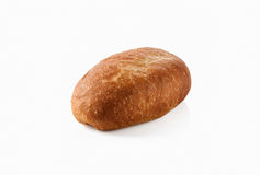 Bread. Fresh bread on a white background Royalty Free Stock Images