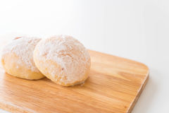 Bread with Fresh Butter Stock Photography