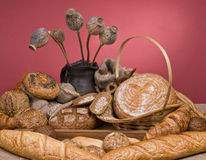 Bread fresh food Royalty Free Stock Photography