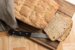 Bread fresh homemade Stock Images